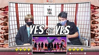 """TWICE """"YES or YES"""" M/V   [NINJA BROS Reaction]"""
