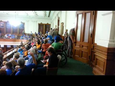 Women arrested in Senate Chamber