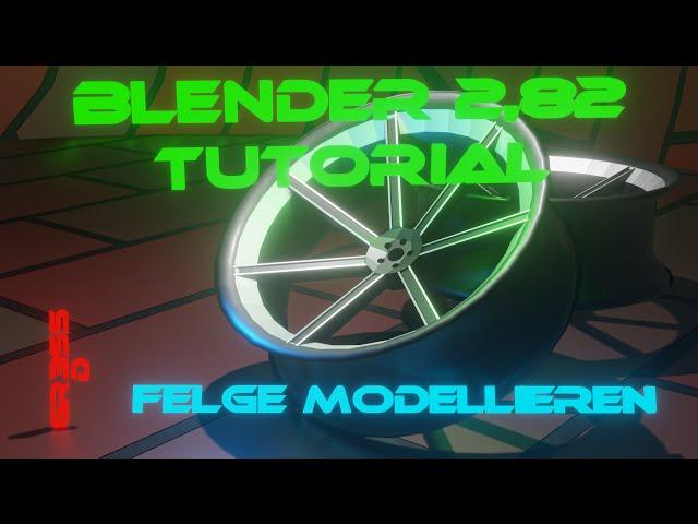 Blender 2.82 Tutorial Deutsch Felge modellieren mit konkave Effekt. Concave Rim.