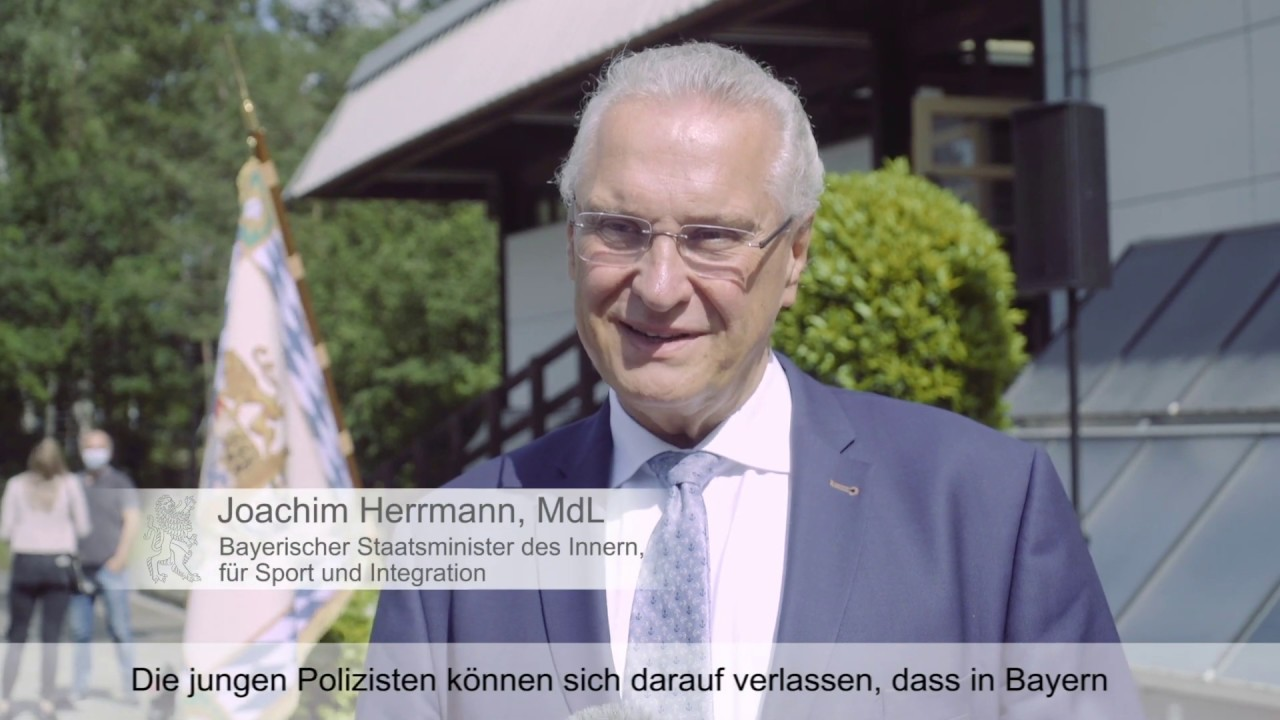 Willkommen in der Polizeifamilie! - Bayern