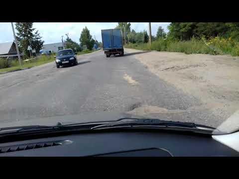 Главный вьезд в Шахунью, Нижегородской области. На протяжение 5 лет, каждый проезжающий кроет матом.