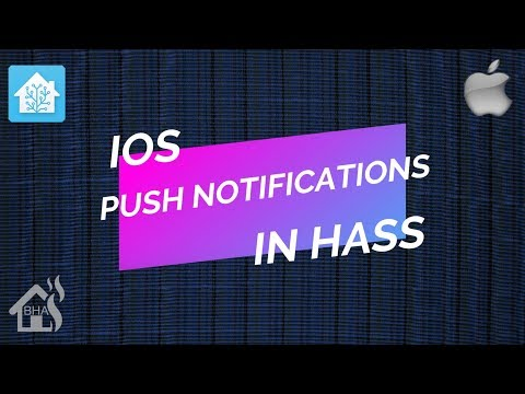 IOS Push Notifications In Home Assistant!!
