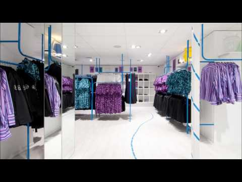 Clothing Shop Internal Design