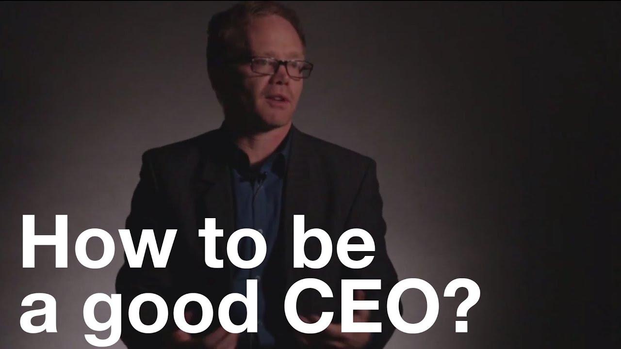 How to be a great CEO How to be a great CEO new photo