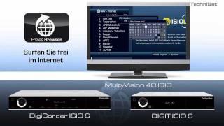 Schritt für Schritt zu TV- und Internet mit ISIO