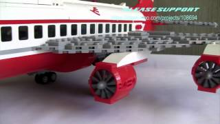 747-400 LEGO PROJECT