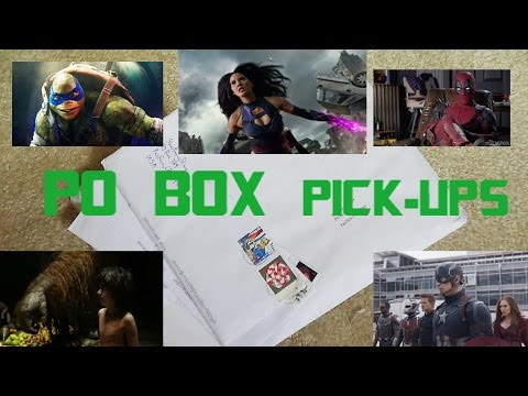 Super Bowl Trailer Talk + New York Meet UP + Giveaway + PO Box Pick-Ups 2:10:16