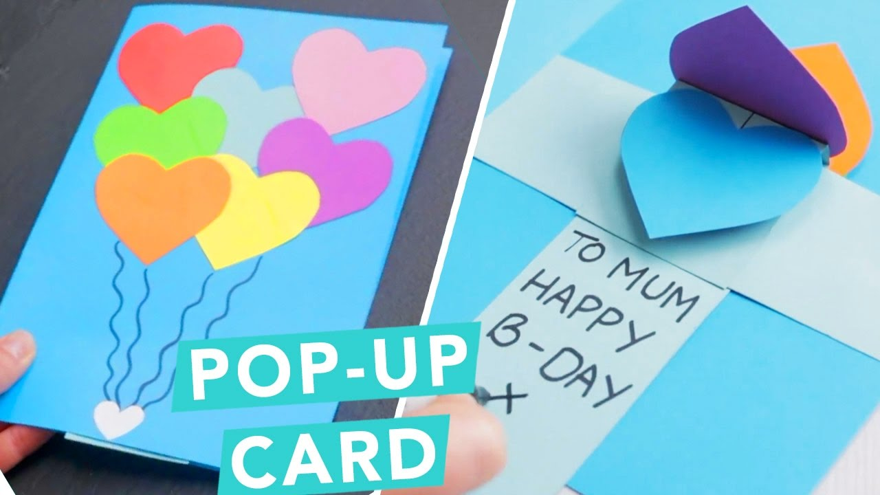 3D Pop Up Card DIY Ideas
