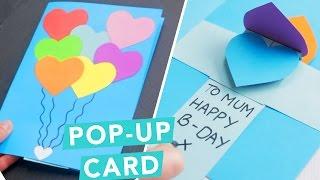 3D Pop-Up Card | DIY Card Ideas | Craft Factory