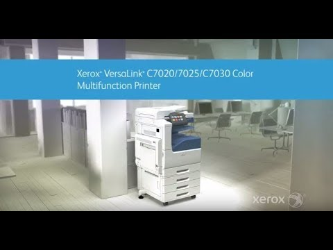 VersaLink C7000 Series Color Multifunction Printers - Xerox