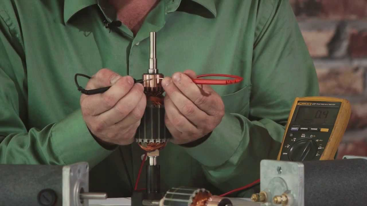 Groschopp Tech Tips How To Check For A Damaged Armature