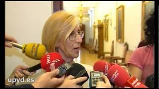 """Rosa Díez (UPyD): """"Es impresentable que jueces promovidos por el PP vayan a juzgar el caso Gürtel"""""""