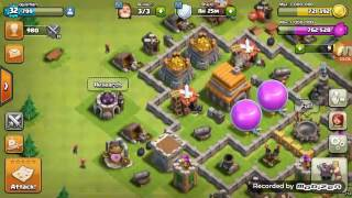 Clash of Clans ep:6 WAR BASE