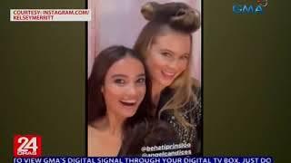Behind-the-scenes sa Victoria's Secret fashion show, ipinasilip ni Kelsey Merritt