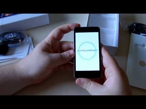 Unboxing Alcatel OneTouch Star, dual sim con Jelly Bean