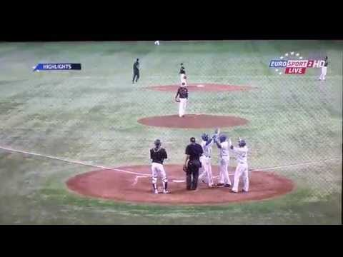 Europe vs. Japan - Baseball, Highlights EuroSport 2 [FULL HD]