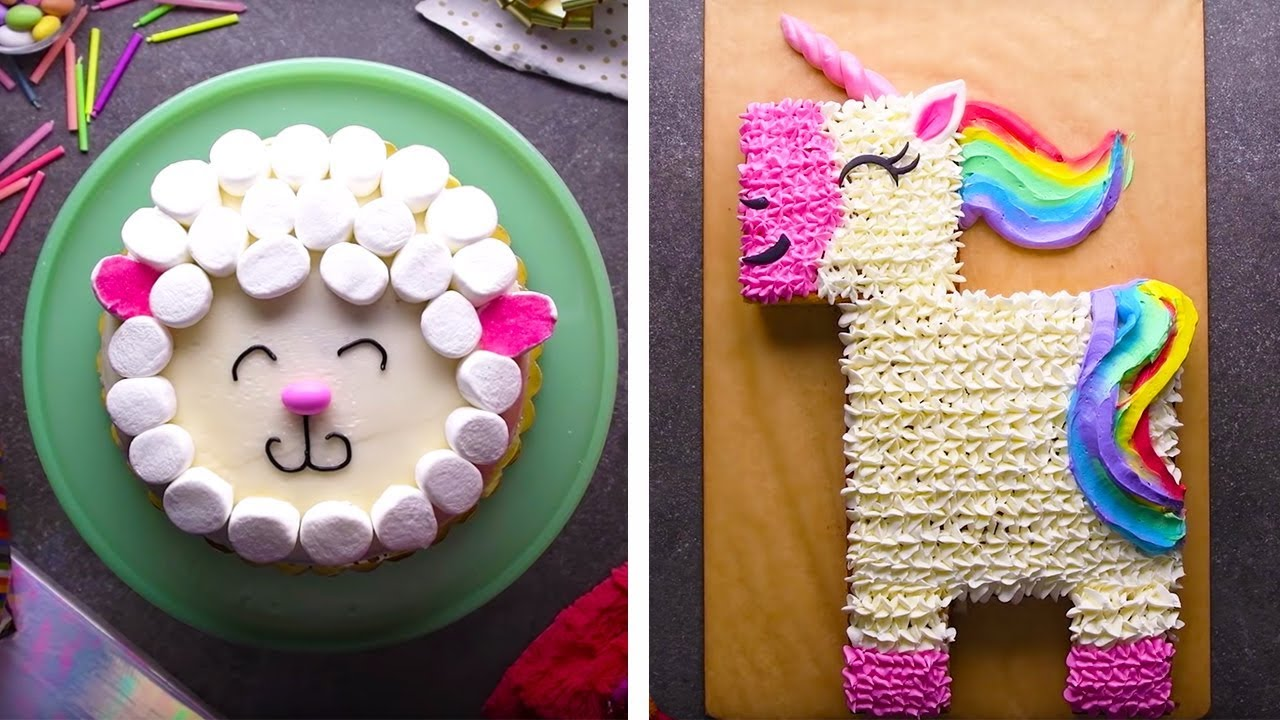 Top 10 Cake Decoration Ideas | Cakes, Cupcakes and More Recipe Videos by So Yummy