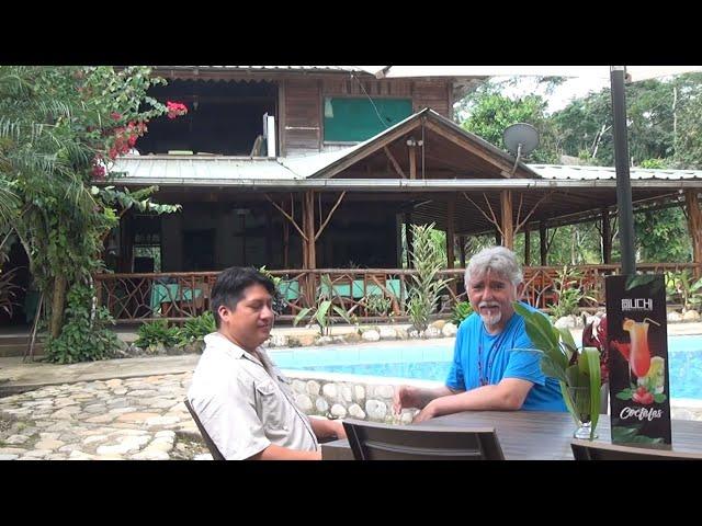 Suchipakari Lodge entrevista a Santiago Morales