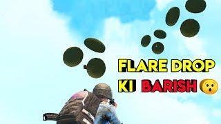 Flare Drop Ki Baarish | Pubg Mobile Sanhok Map | Roasting Guru