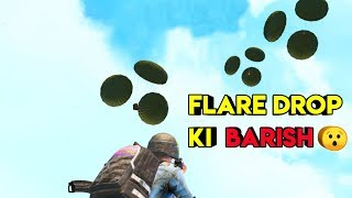 Flare Drop Ki Baarish   Pubg Mobile Sanhok Map   Roasting Guru