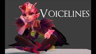 Dota 2 - all Dark Willow voice lines