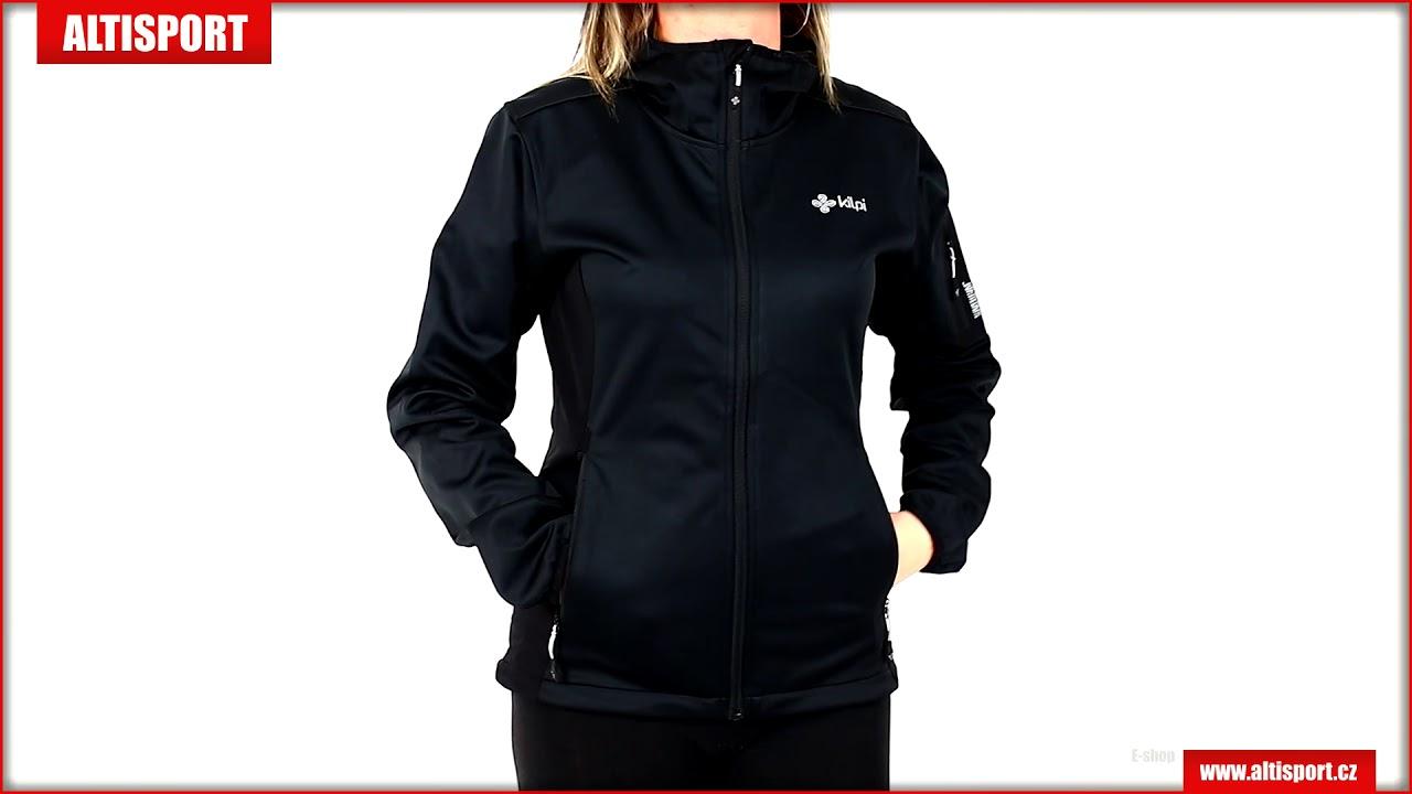 93d3b46850187 dámská softshellová bunda kilpi fordino w jl0226ki černá - YouTube