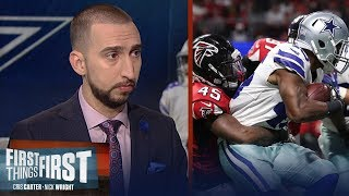 Dallas loses to Atlanta in Week 10, are the Cowboys in trouble without Zeke? | FIRST THINGS FIRST