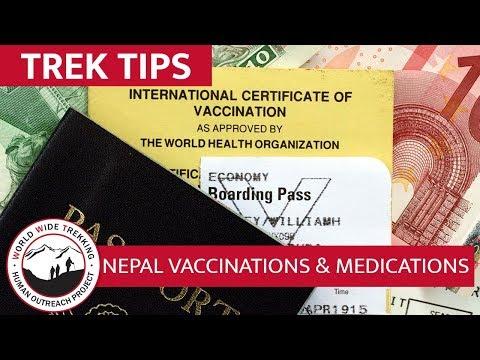 Everest Base Camp Trek Travel Vaccinations, Medicine, and Health   Trek Tips