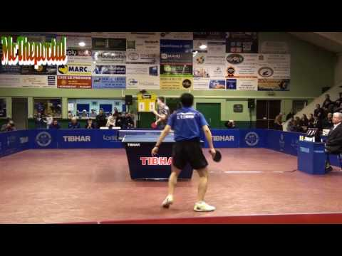 Table Tennis French League 2017 - Antoine Hachard Vs Chuang Chih-Yuan (Private Recording)