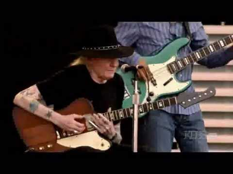 Johnny Winter - Highway 61 Revisited Live 2007 @ Crossroads Festival