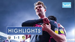 Highlights | West Bromwich Albion 1-1 Leeds United | 2019/20 EFL Championship