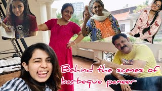 Behind the scenes | Paneer Tikka barbeque