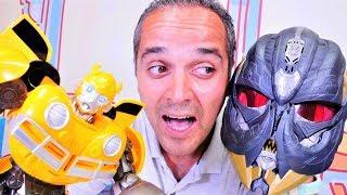 Şenol Megatron'a dönüşüyor! Transformers oyunu. Eğlenceli oyuncak videosu