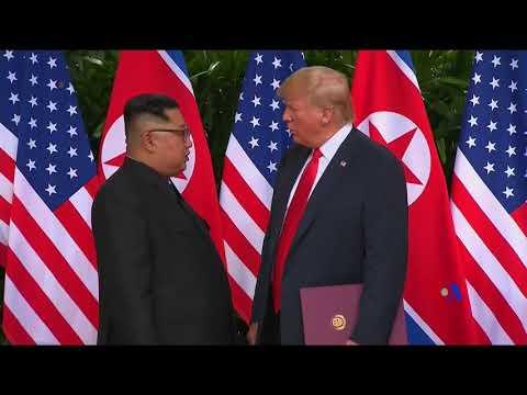 蓬佩奧會見文在寅通報美國北韓峰會
