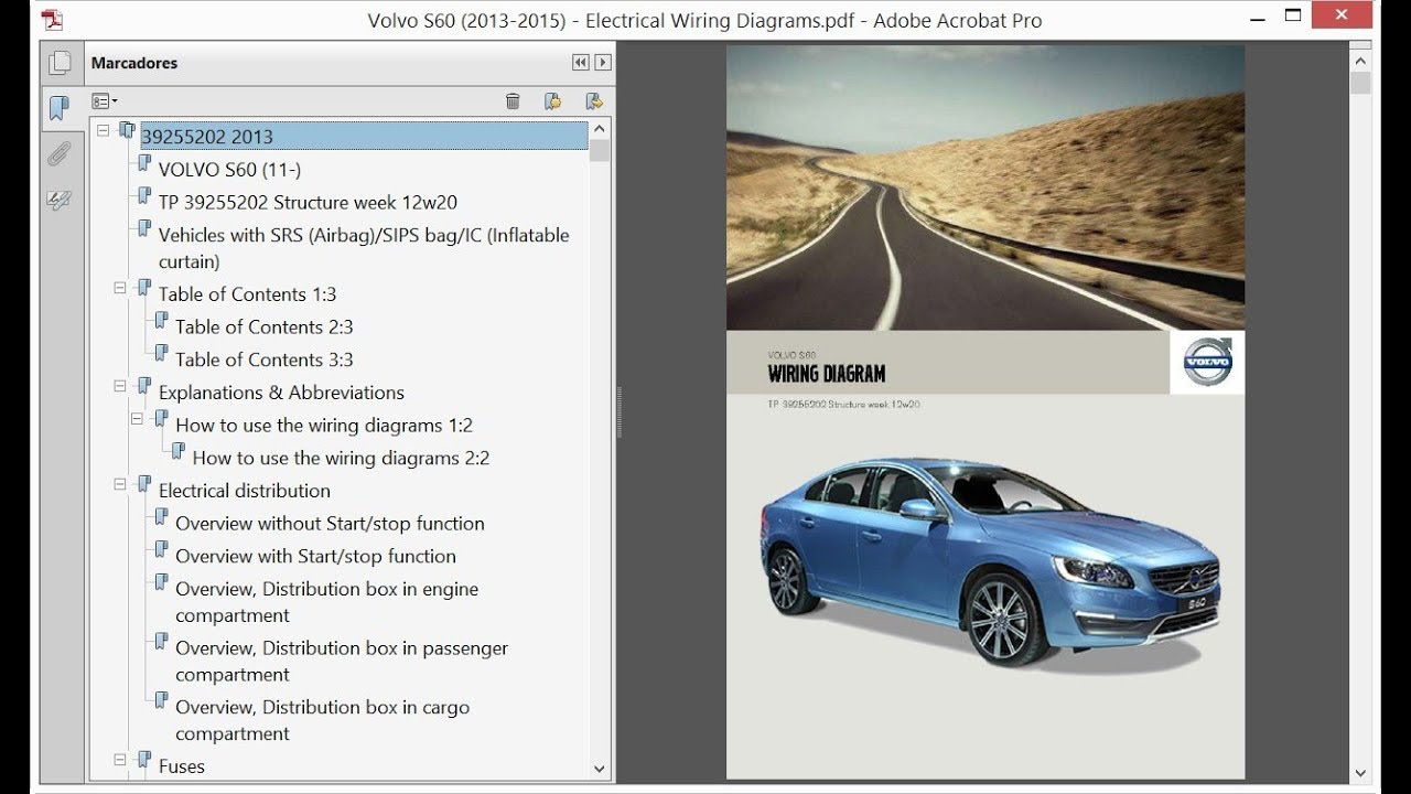volvo s60 (2013-2015) - electrical wiring diagrams - youtube  youtube
