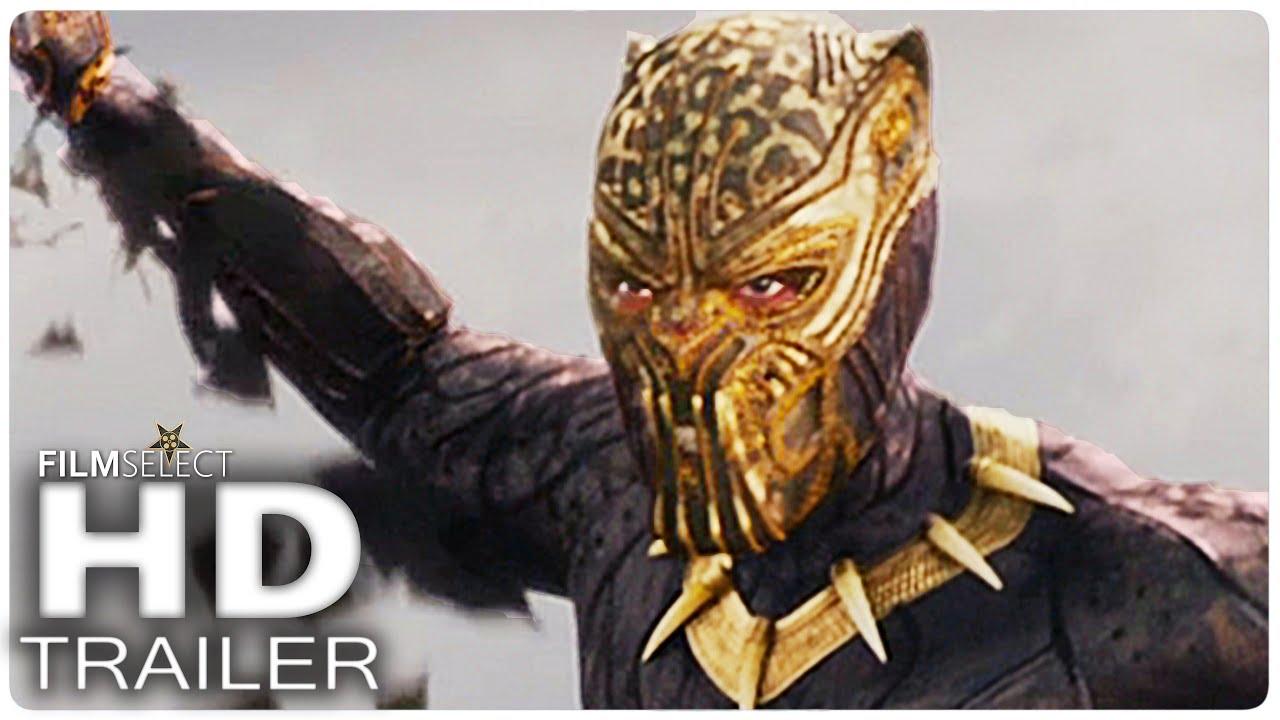 Black Panther Animal Wallpaper Black Panther Trailer 2 Espa 241 Ol Extendido Marvel 2018