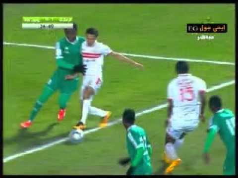 اهداف مباراة مباراة الزمالك 2-0 يونيون سبورتيف 19-3-2016  دورى ابطال افريقيا