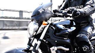 обзор Yamaha Fazer 600 FZ6N Фазер тест-драйв Моторейтинг