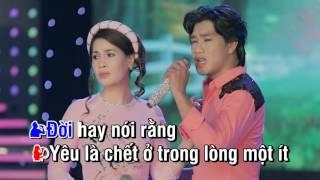 Karaoke Đừng Nói Xa Nhau - Dương Sang & Thùy Dương