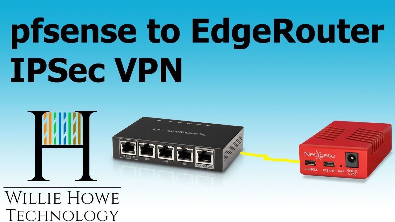 pfsense to EdgeRouter IPSec VPN