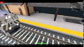 Riding the New Jersey Transit On Roblox