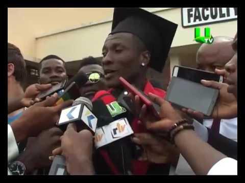Asamoah Gyan Gets Honorary Doctorate Award