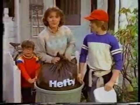 Hefty Trash Bags Tv Ad 1982