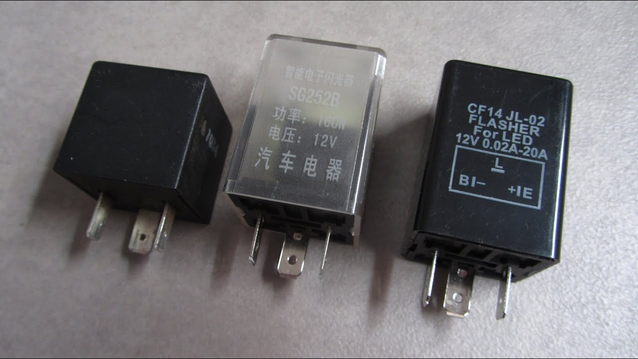 Blinker Relay 3 Pin Flasher Relay Wiring Diagram Manual from i.ytimg.com