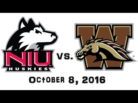 October 8, 2016 - Northern Illinois Huskies vs. Western Michigan Broncos Full Football Game