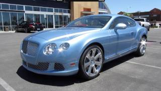 2012 Bentley Continental GT Start Up, Exhaust, and In Depth Tour