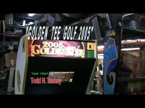 #194 GOLDEN TEE GOLF 2005 Arcade Video Game in original cabinet - TNT Amusements