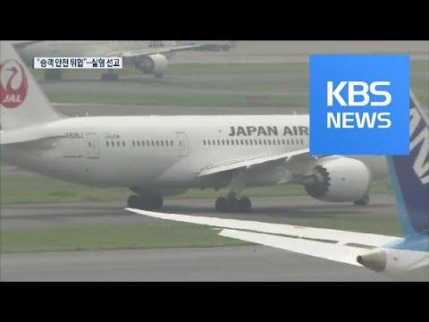일본항공 음주 조종사, 영국서 실형 선고…해고 / KBS뉴스(News)