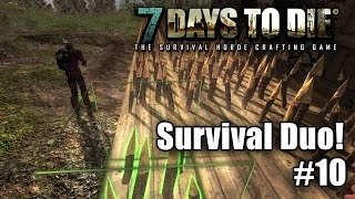 7 Days to Die - Survival Duo ☠ - Spitzen Gärtner! - Let's Play #10 - Gameplay - Deutsch thumbnail