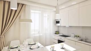 My Interior: 3D Визуализация, квартира 62.5 м2, дизайн-проект